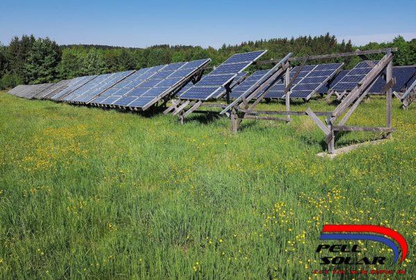 Solar Panels with Logo